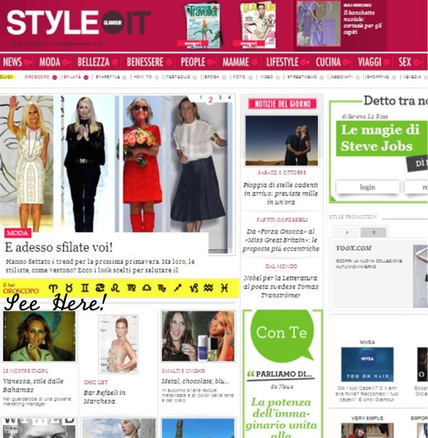 PRESS: talking fashion with STYLE.it