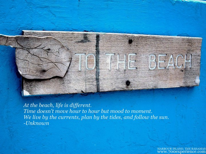 Island Inspirations – To The Beach