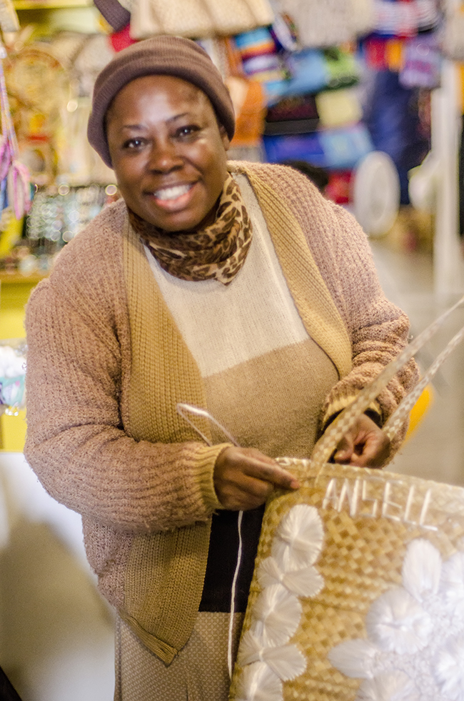 Personalized Straw Bag_Nassau's Market