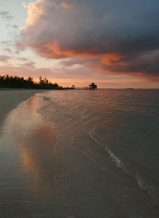 Sunsets at Kamalame Cay