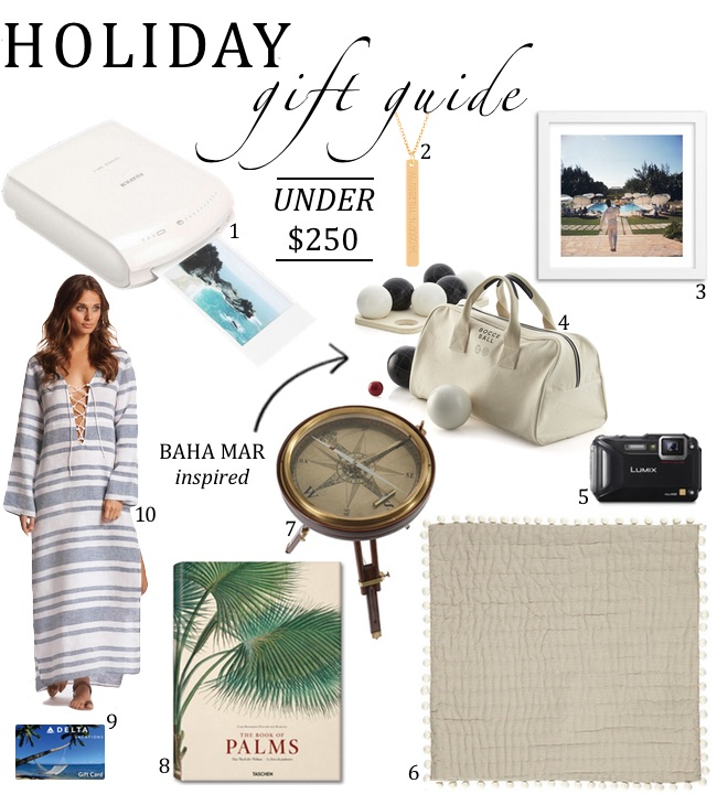 Holiday Gift Guide – Under $250