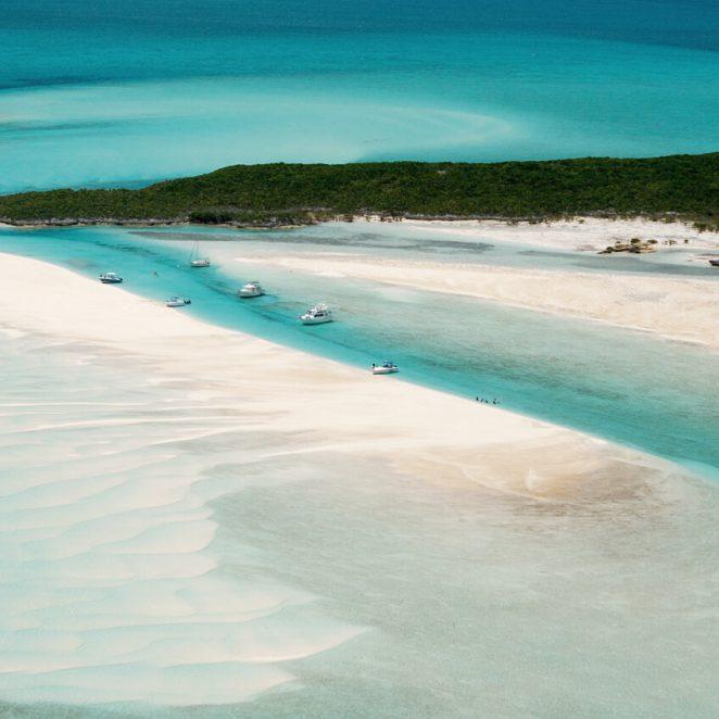 Dropping Anchor Off Pipe Cay, Exumas