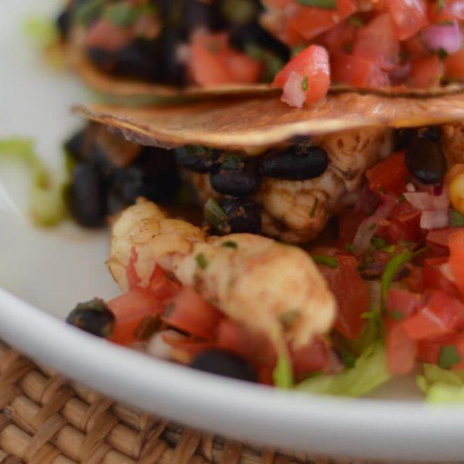 Lobster Breadfruit Fish Tacos